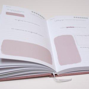 Aandachtsmomenten journal binnenkant