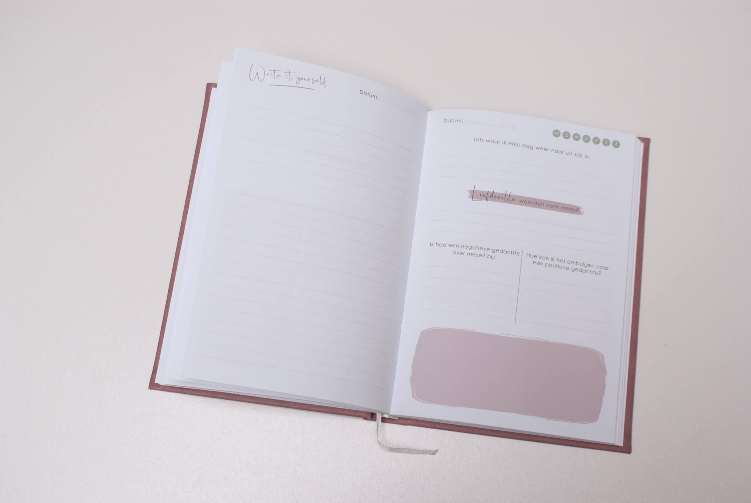 invuldagboek binnenkant