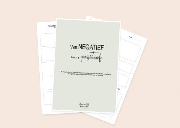 Werkblad-negatief-positief